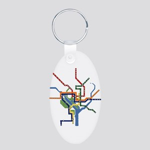 All Designs on All Products Aluminum Oval Keychain