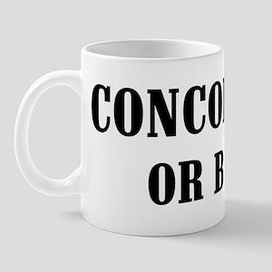 Concord or Bust! Mug