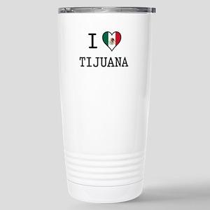 I Love Tijuana Stainless Steel Travel Mug