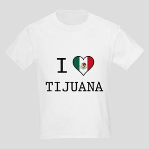I Love Tijuana Kids Light T-Shirt