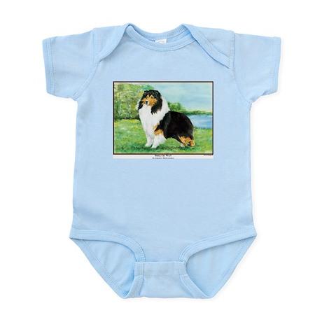 Sheltie Wait Infant Creeper