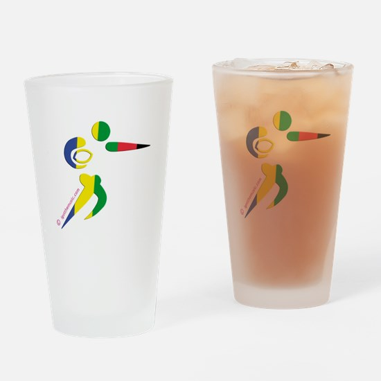 Rugby Olympic Pint Glass