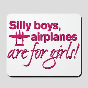 Silly boys... Mousepad