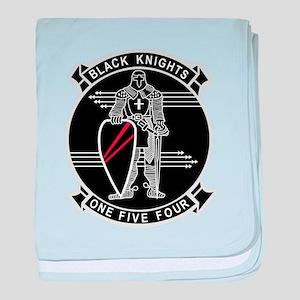 VF-154 Black Knights baby blanket