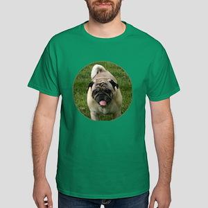 Fawn Pug Dark T-Shirt