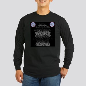 Caylee's Law All 50 States Long Sleeve Dark T-Shir