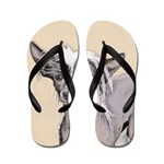 Chinese Crested (Hairless) Flip Flops