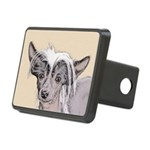 Chinese Crested (Hairless) Rectangular Hitch Cover