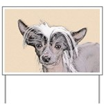 Chinese Crested (Hairless) Yard Sign