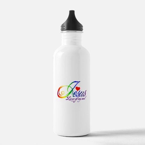 Jesus Lover of my soul primar Water Bottle