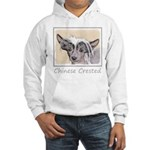 Chinese Crested (Hairless) Hooded Sweatshirt