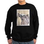 Chinese Crested (Hairless) Sweatshirt (dark)