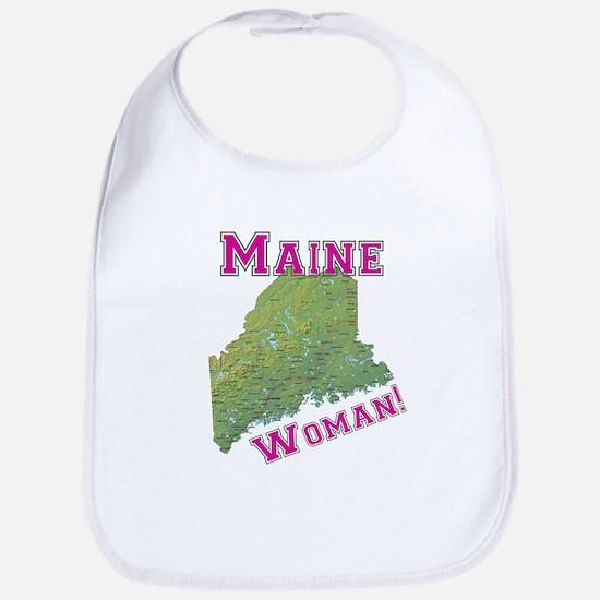 Maine Woman Bib