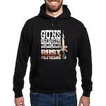 GUNS Hoodie (dark)