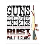 GUNS Small Poster