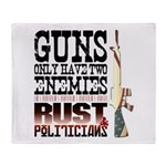 GUNS Throw Blanket