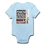 GUNS Infant Bodysuit