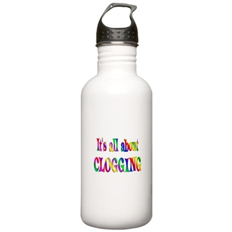 About Clogging Stainless Water Bottle 1.0L