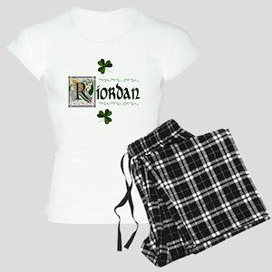 Riordan Celtic Dragon Art Women's Light Pajamas