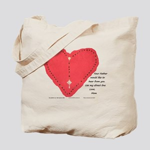 Mom's Direct Line - Tote Bag