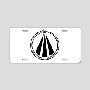 Druid Snake Aluminum License Plate