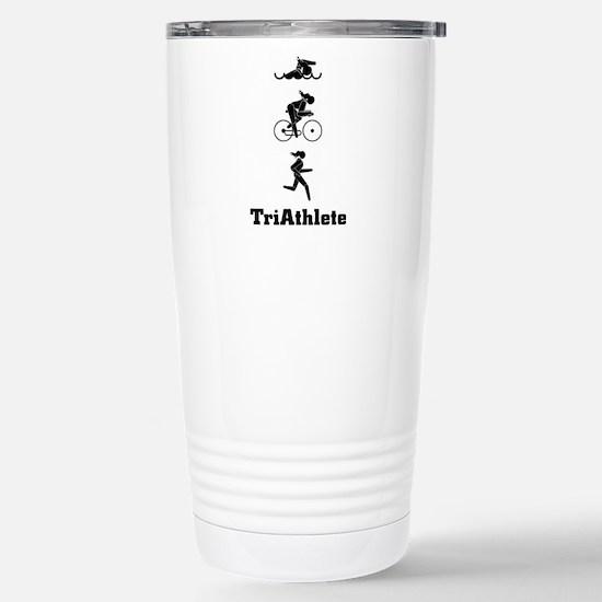 Women's Triathletes II Stainless Steel Travel Mug