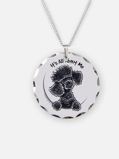 Black Poodle Lover Necklace