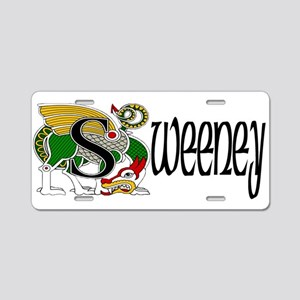 Sweeney Celtic Dragon Aluminum License Plate