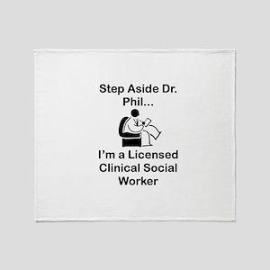 Dr. Phil Throw Blanket