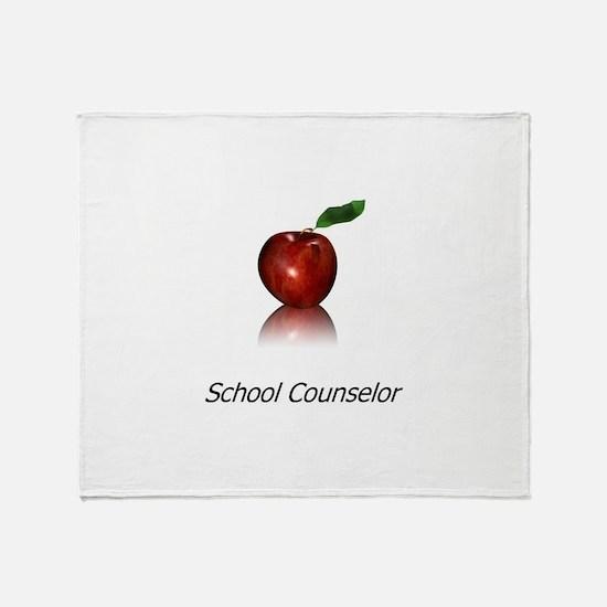 School Counselor Throw Blanket