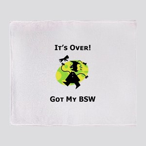 Got My BSW Throw Blanket