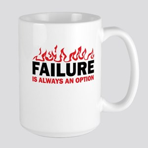 Failure is Always and Option Large Mug