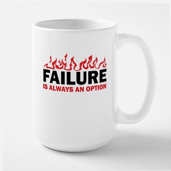 Failure is Always and Option Large Mug
