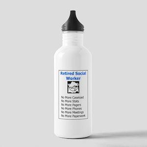 Retired Social Worker Stainless Water Bottle 1.0L