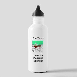 Paperwork Nightmare Stainless Water Bottle 1.0L
