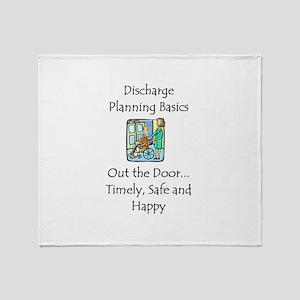 Discharge Planning Throw Blanket
