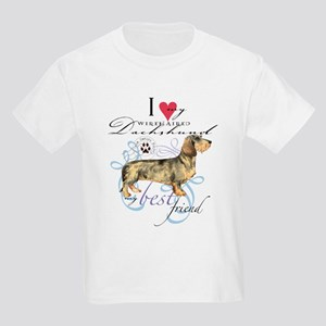 Wirehaired Dachshund Kids Light T-Shirt