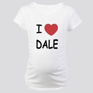 I heart dale Maternity T-Shirt
