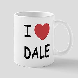 I heart dale Mug