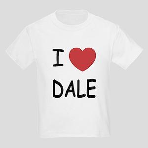 I heart dale Kids Light T-Shirt