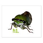 Cicada hi. Small Poster
