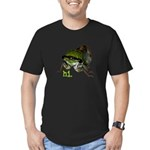 Cicada hi. Men's Fitted T-Shirt (dark)