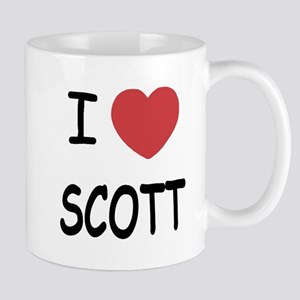 I heart scott Mug