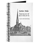 Father Mike Guest Book Journal