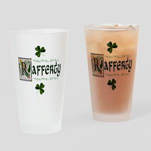 Rafferty Illuminated Initial Pint Glass