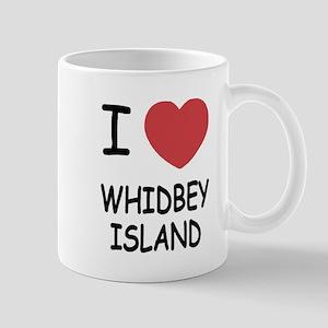 I heart whidbey island Mug