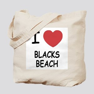 I heart blacks beach Tote Bag