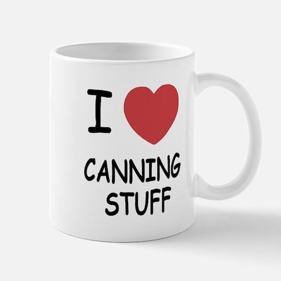 I heart canning stuff Mug