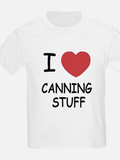 I heart canning stuff T-Shirt