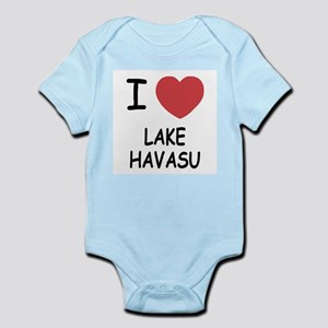 I heart lake havasu Infant Bodysuit